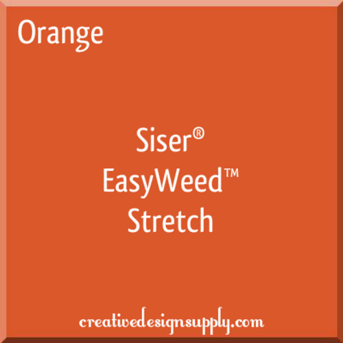 Siser® EasyWeed® Stretch Heat Transfer Vinyl Orange