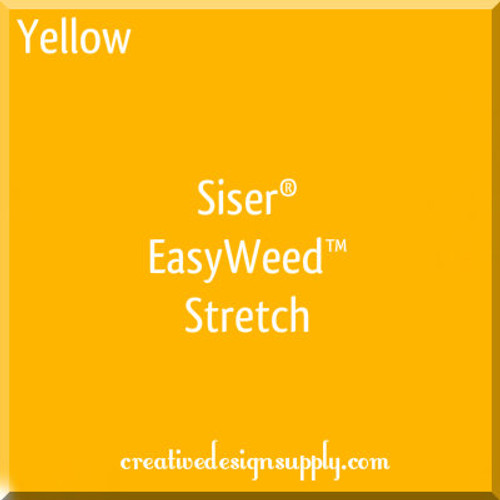 Siser® EasyWeed® Stretch Heat Transfer Vinyl Yellow