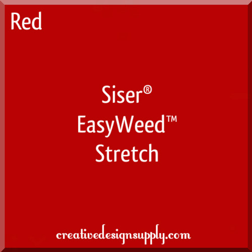 Siser® EasyWeed® Stretch Heat Transfer Vinyl Red
