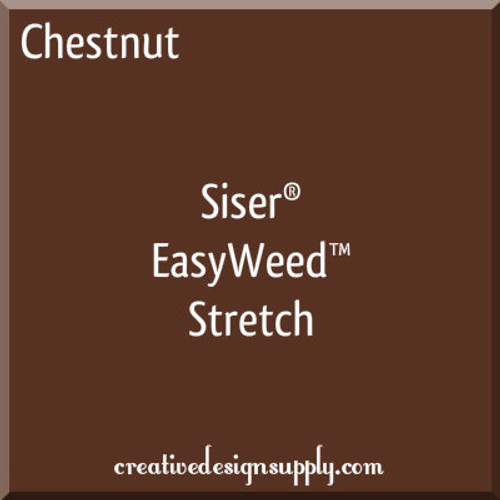 Siser® EasyWeed® Stretch Heat Transfer Vinyl Chestnut