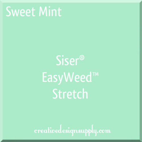 Siser® EasyWeed® Stretch Heat Transfer Vinyl Sweet Mint