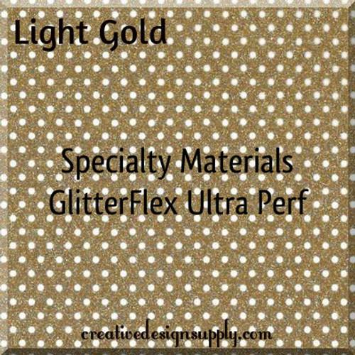 GlitterFlex® Ultra Perf Light Gold