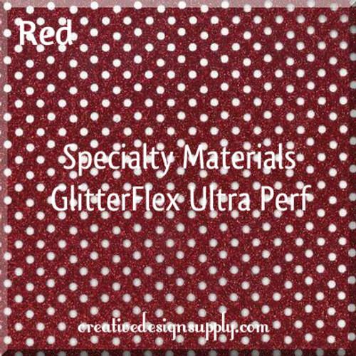 GlitterFlex® Ultra Perf Red