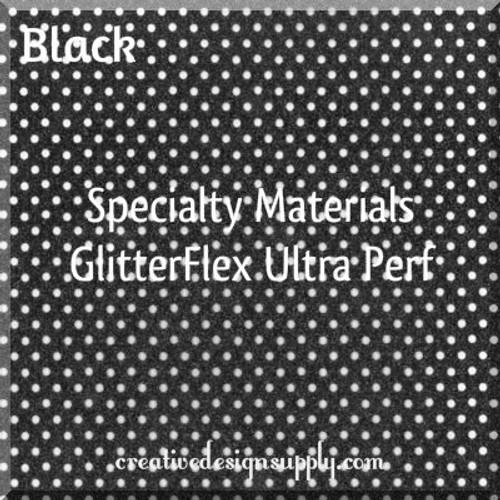GlitterFlex® Ultra Perf Black