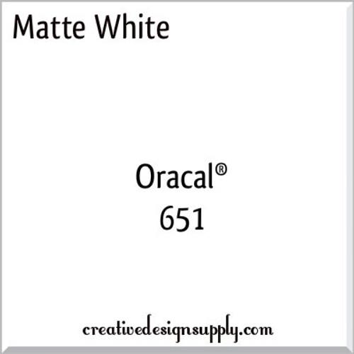Oracal 651 Matte White
