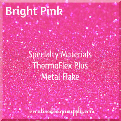 ThermoFlex® Plus Metal Flake Bright Pink