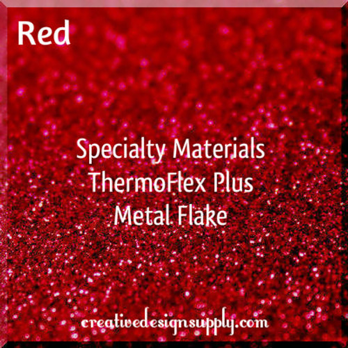 ThermoFlex® Plus Metal Flake Red