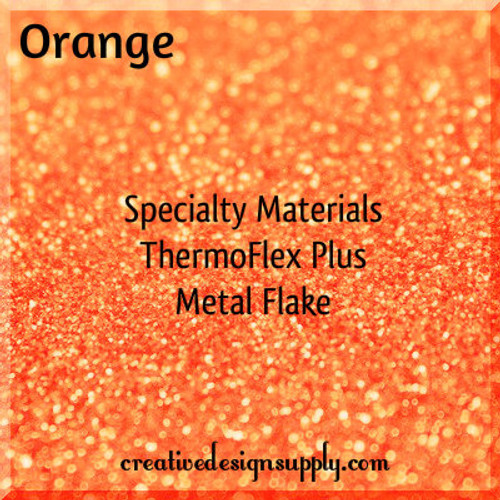 ThermoFlex® Plus Metal Flake Orange