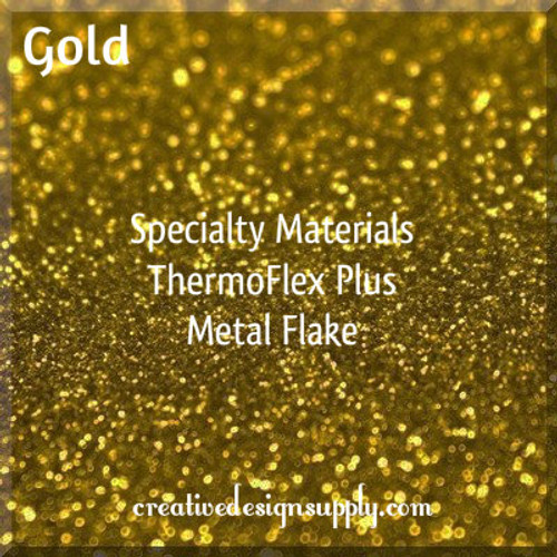 ThermoFlex® Plus Metal Flake Gold