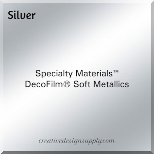 DecoFilm® Soft Metallics Silver