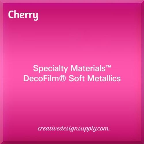 DecoFilm® Soft Metallics Cherry