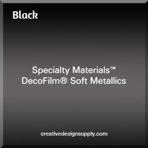 DecoFilm® Soft Metallics Black