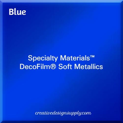 DecoFilm® Soft Metallics Blue