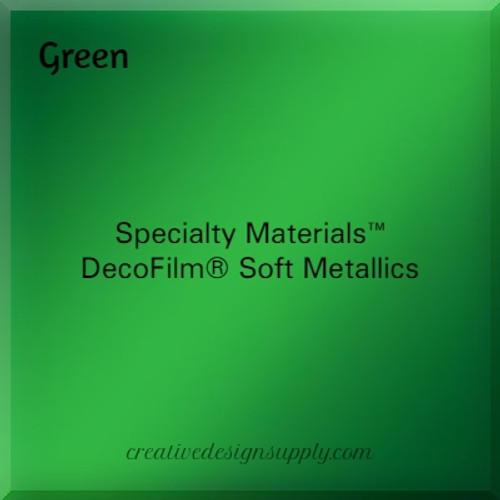 DecoFilm® Soft Metallics Green
