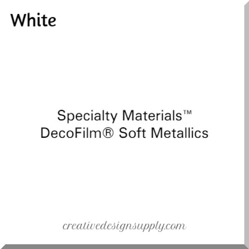 DecoFilm® Soft Metallics White