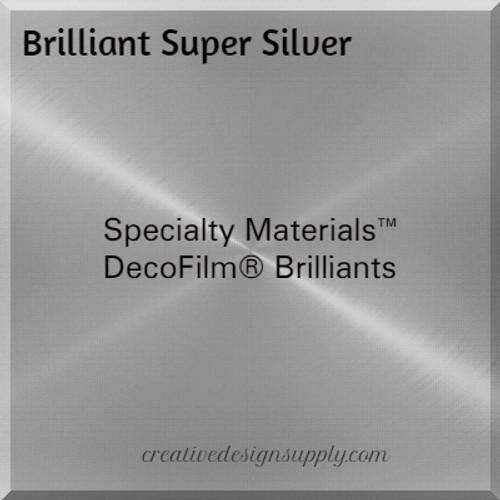 DecoFilm® Brilliants Super Silver
