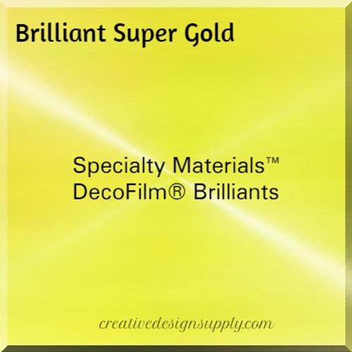 DecoFilm® Brilliants Super Gold