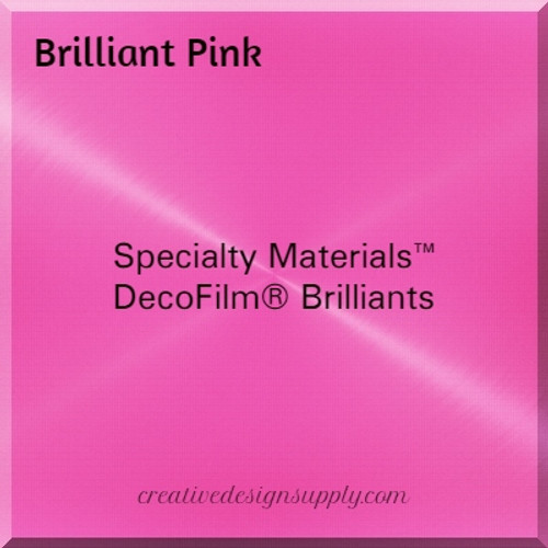 DecoFilm® Brilliant Pink