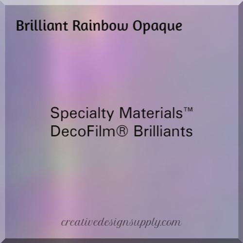 DecoFilm® Brilliant Rainbow Opaque
