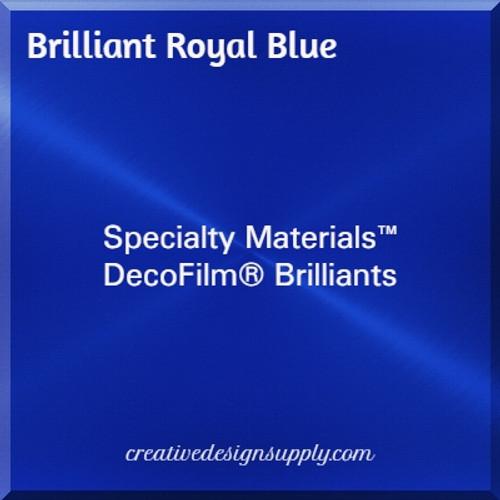 DecoFilm® Brilliant Royal Blue