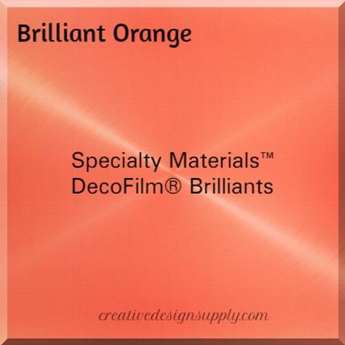 DecoFilm® Brilliant Orange