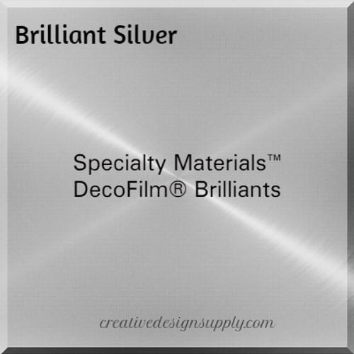 DecoFilm® Brilliant Silver
