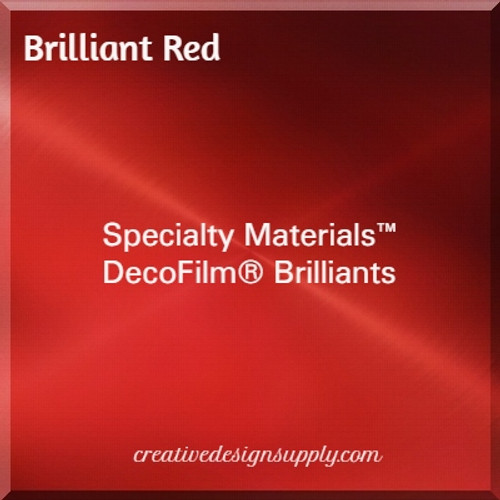 DecoFilm® Brilliant Red