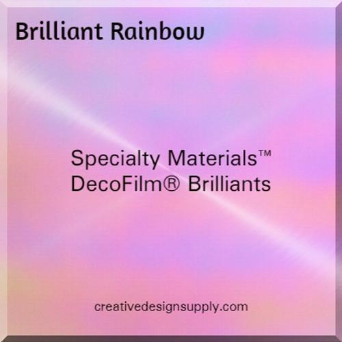 DecoFilm® Brilliant Rainbow