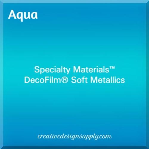 DecoFilm® Soft Metallics Aqua