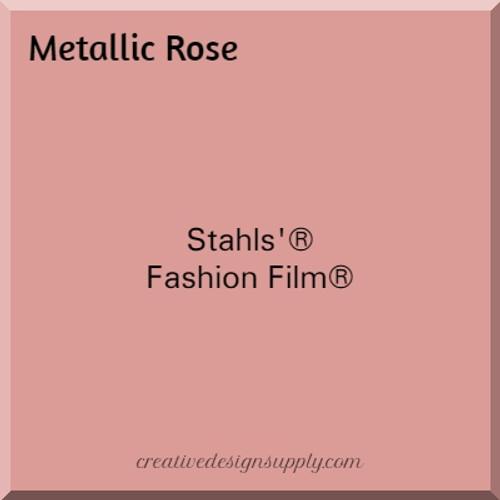 Stahls'® Cad-Cut® Fashion Film® Metallic Rose