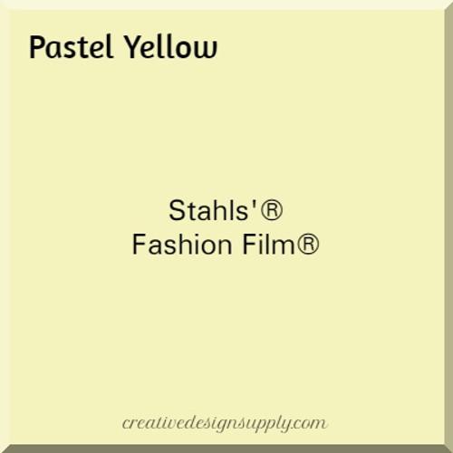 Stahls'® Cad-Cut® Fashion Film® Pastel Yellow