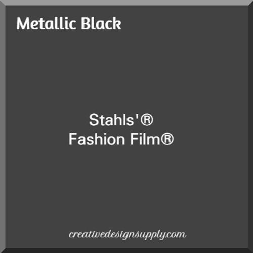 Stahls'® Cad-Cut® Fashion Film® Metallic Black