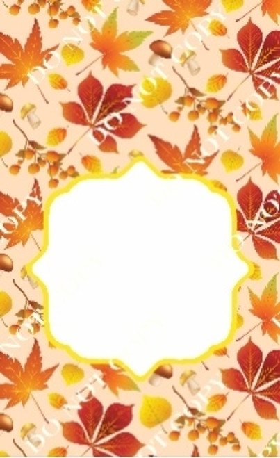 Fall 3 CDS Custom Printed Garden Flag