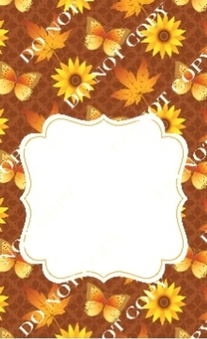 Fall 5 CDS Custom Printed Garden Flag
