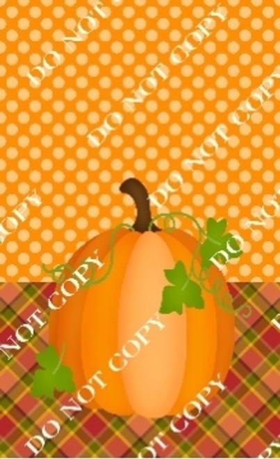 Fall 9 CDS Custom Printed Garden Flag