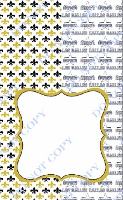 House Divided Dallas-Saints 2 CDS Custom Printed Garden Flag