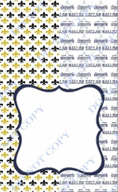 House Divided Dallas-Saints 3 CDS Custom Printed Garden Flag