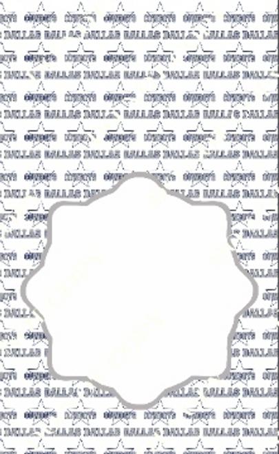 Dallas 2 Pro Football CDS Custom Printed Garden Flag