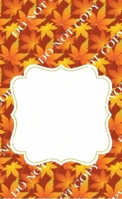 Fall 4 CDS Custom Printed Garden Flag