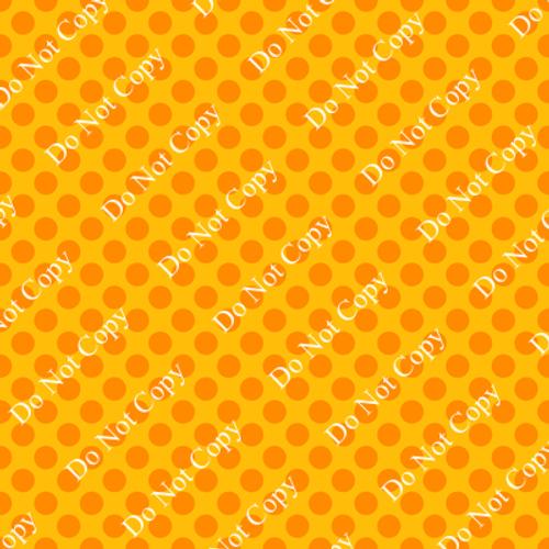 Go Pack Go Gold Polka Dots