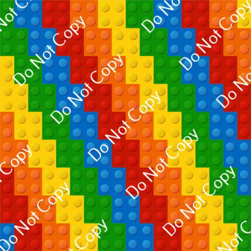 CDS Custom Printed Vinyl   Building Blocks 13
