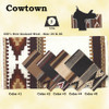 """Mayatex Quality. COWTOWN SADDLE BLANKET made of 100% New Zealand wool in five earth tone colors looks great on any horse.    Size 36"""" X 34"""""""