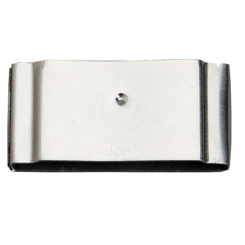 "For stirrup leathers 2 1/2"" wide. Fits horizontal post style Blevins Buckles.  Made in U.S.A."