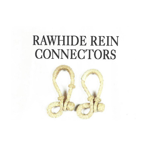 Rawhide Rein Connectors
