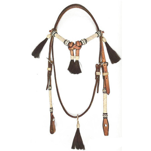 Deluxe Hermann Oak Headstall