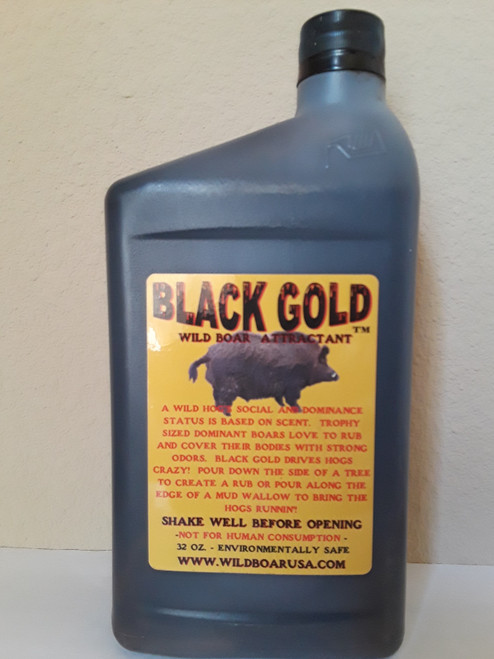 Black Gold Hog Attractant Front Label