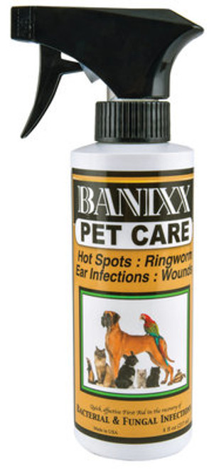 Banix Pet Care Front Label