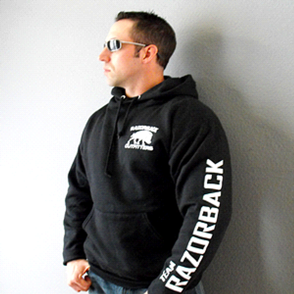 Team Razorback Outfitters Hoodie Front