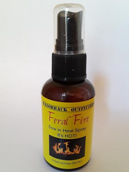 Feral Fire Sow In Heat Spray