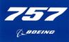 757 Blue Sticker